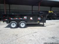 This trailer is a 2013 Big Tex extra wide, low profile