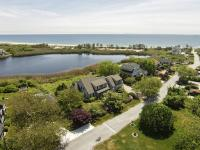 This New England shingled style beach home is
