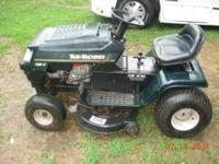 "I have a 14 HP 38"" Cut Yard Machine riding lawn mower"
