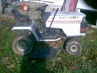 I have a craftsman 14 horse power riding mower briggs