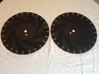 14 INCH 1 INCH ARBOR DIAMOND BLADES NEW, UNUSED IN