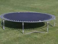Jump King 14' Trampoline in good shape spring and tarp