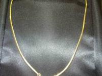 18 INCH.........14K YELLOW GOLD........ROUND CUT