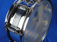 "This is for a used Ludwig Accent 14"" snare drum. The"