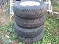 Set of 4 brand new ST215 75 R14 Trailer Tires. Great