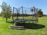 14' JumpSport Stage Bounce Trampoline (Check out