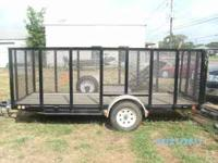 14 TRAILER- MANUFACTURE: PJ TRAILERS CONDITION-LIKE