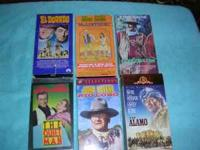I am selling this lot of my favorite 14 John Wayne