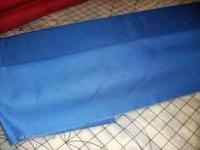 14 yards of Royal Blue Twill-6 ounce weight per