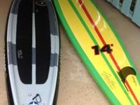 14' YOLO Prowler Eagle and 14' YOLO Prowler Rasta.