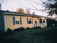 3 Br home full open Basement 2.5 acres 24x44 Garage