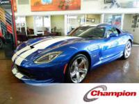 2013 SRT VIPER GTS COUPE 2D, k miles, THIS VEHICLE HAS
