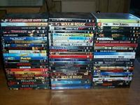 140 DVD title collection / lot for sale - all are in