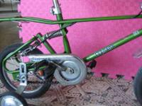 Hablo Espaol.Vintage kid bike! Made in Italy in the
