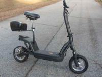This is a Schwinn Electric Scooter. It is in nice ride