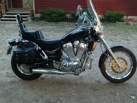 98 1400 Intruder for sale. Memphis Shade windshield