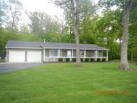 Nice Updated ranch style home for sale with 2.75 acres