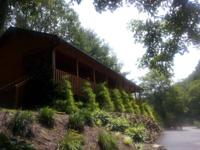 Riverfront cabin in the blue ridge mountains in Sparta