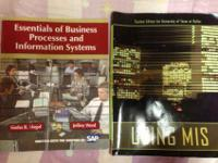 I bought the 2 required books for the MIS3300 class for
