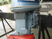 Took this 1984 outboard in on trade (previous owner