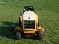 Cub Cadet Riding Lawn Mower. Runs GREAT. I'm asking