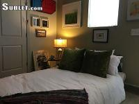 Private bedroom in 2BR/2BA two-level penthouse loft.