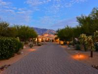 Luxury in gated Honeybee Ridge Estates. Sited to