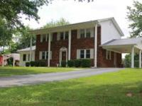 Beautiful 2 story brick, colonial style home with full