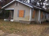 Jackson MS 4 Bedroom 1 Bath Fixer Upper Available For