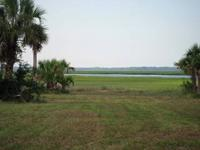 Amazing views of the Belle's River and lush marshes