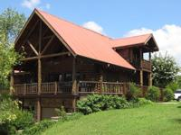 The Lodge sits on 27 acs in the rolling hills of