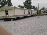 We have 1 double wide and 2 single wide mobile homes