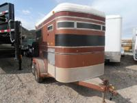 1496 1984 CIRCLEJ 2 HORSE BP TRAILER 1975.00 In Stock