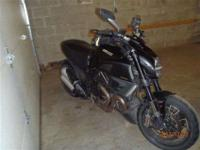 2011 Ducati Diavel Diamond Black for sale. Bike has