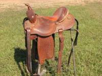14.5 Cactus Charmayne James Barrel Saddle. Excellent
