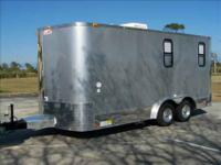 2013 TOY HAULER BY AERO INDUSTRIES. THE MOST COMPACT