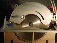 "HARD TO FIND PRO 14"" CIRCULAR SAW & BLADE Cut thick"
