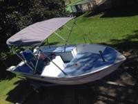 I have a 1995 14' Grumman aluminum boat with 30 HP