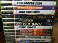14 initial Xbox video games. Offering the whole set