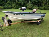 For sale is a nice 14' Starcraft aluminum watercraft.