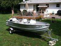 14ft - 1970's Vintage Sea Nymph; Aluminum fishing boat,
