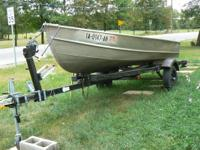 For Sale, 14ft Barracuda  V-bottom Aluminum Fishing