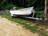 I have for sale my bay constructed skiff. Its in mint