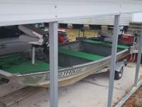 i have a duracraft boat,motor and trailer.25hp