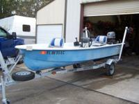 1984 PRINCESS 14.1 FT. FIBERGLASS BOAT V AHEAD HAS 3