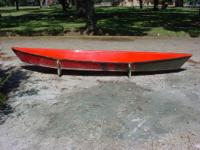 14ft fiberglass Piroque Boat Canoe Mold for sale, 13ft