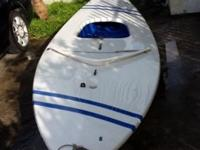 Good condition 14 ft Sunfish Sailboat with rudder. This
