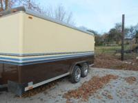 A NICE CLEAN 14FT ENCLOSED TRIALER MAID BY WELLS FARGO