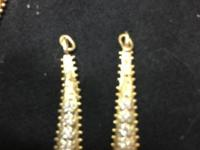 14 K gold diamond jackets for your diamond posts