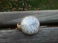 IT'S A 1946 HAMILTON POCKET WATCH. IT WAS GIVEN TO A